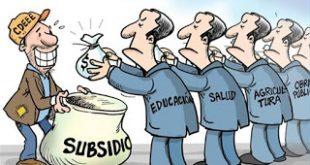 Explicación del concepto de subsidio