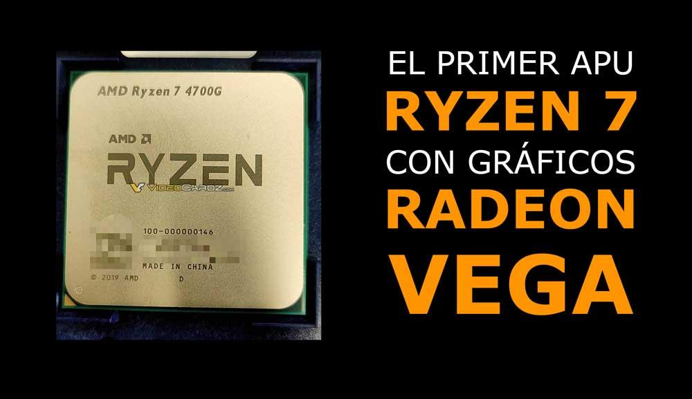 Gama de procesadores AMD 4000G