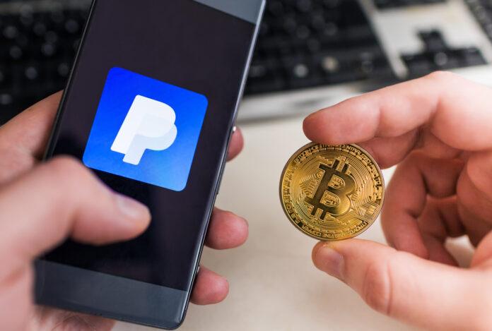 PayPal permitirá comerciar cryptos