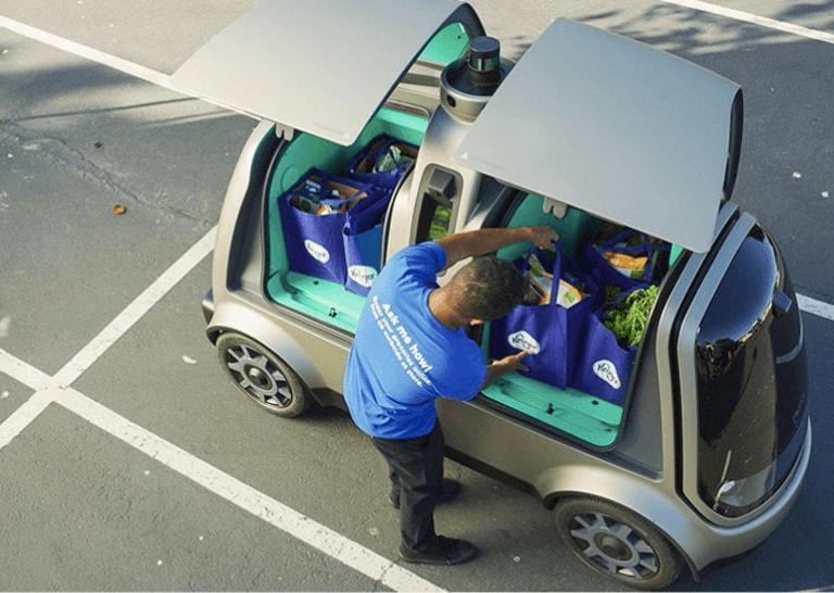 Vehículos autónomos Nuro R2